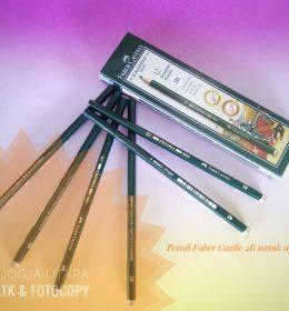 Pensil Faber-Castell 2b